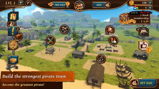 Ships of Battle – Age of Pirates – Warship Battle v2.6.28 screenshots 16
