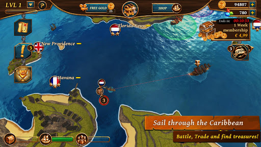 Ships of Battle – Age of Pirates – Warship Battle v2.6.28 screenshots 2