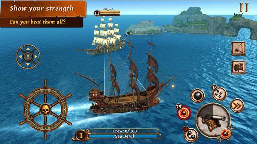 Ships of Battle – Age of Pirates – Warship Battle v2.6.28 screenshots 3