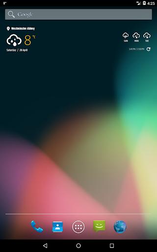 Simple weather amp clock widget no ads v0.9.70 screenshots 11