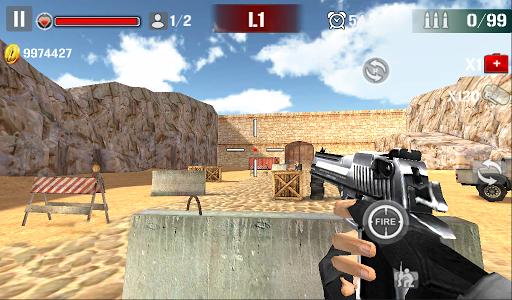 Sniper Shoot Fire War v1.2.5 screenshots 1