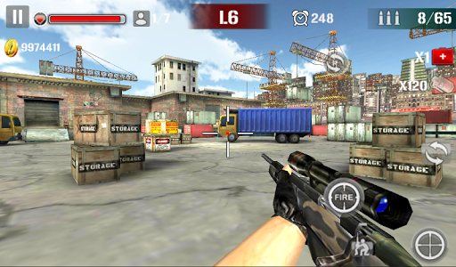 Sniper Shoot Fire War v1.2.5 screenshots 13