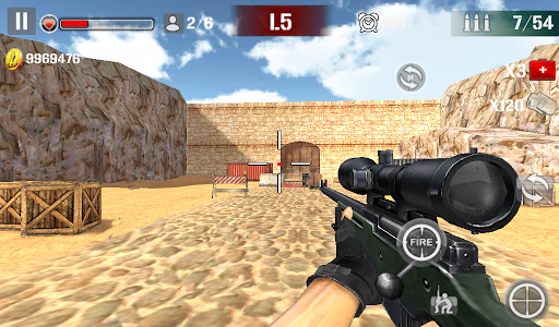 Sniper Shoot Fire War v1.2.5 screenshots 17