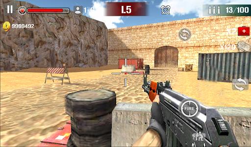 Sniper Shoot Fire War v1.2.5 screenshots 2