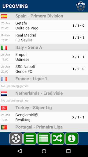 Soccer Forecast v1.3.8 screenshots 1