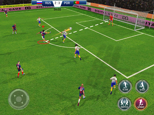 Soccer League Stars Football Games Hero Strikes v screenshots 10