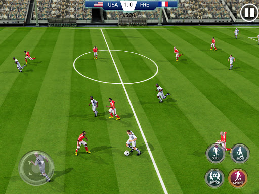 Soccer League Stars Football Games Hero Strikes v screenshots 16
