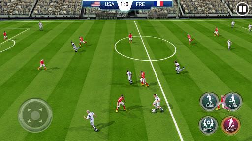 Soccer League Stars Football Games Hero Strikes v screenshots 2