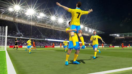 Soccer League Stars Football Games Hero Strikes v screenshots 4