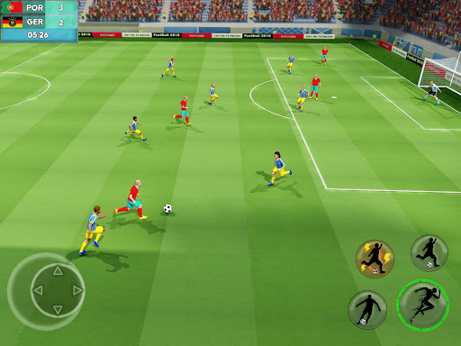 Soccer League Stars Football Games Hero Strikes v screenshots 8