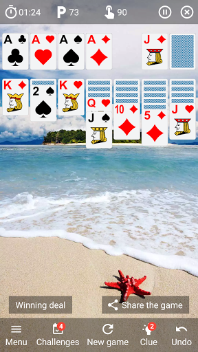 Solitaire classic card game v6.4 screenshots 1