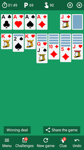 Solitaire classic card game v6.4 screenshots 13