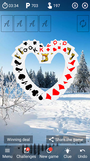 Solitaire classic card game v6.4 screenshots 2
