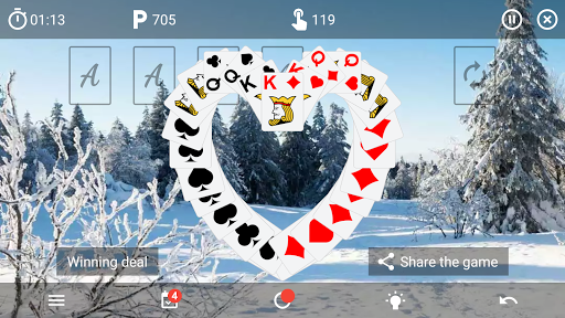 Solitaire classic card game v6.4 screenshots 5