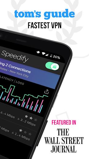 Speedify – Fast amp Reliable VPN v11.2.1.10801 screenshots 2