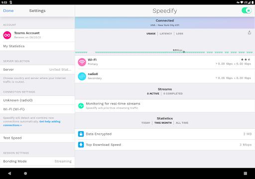 Speedify – Fast amp Reliable VPN v11.2.1.10801 screenshots 4