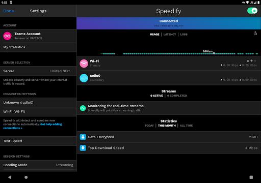 Speedify – Fast amp Reliable VPN v11.2.1.10801 screenshots 5