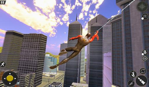Spider Rope Hero Gangster Crime City Simulator 3D v1 screenshots 10