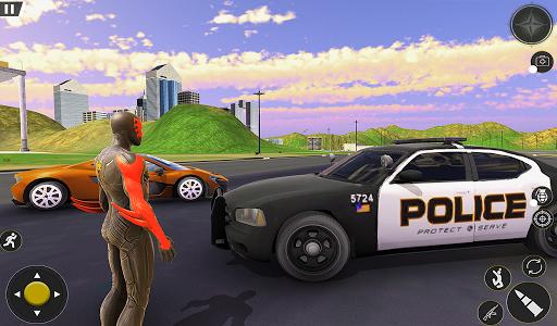 Spider Rope Hero Gangster Crime City Simulator 3D v1 screenshots 12
