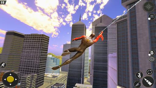 Spider Rope Hero Gangster Crime City Simulator 3D v1 screenshots 2