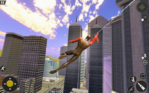Spider Rope Hero Gangster Crime City Simulator 3D v1 screenshots 6