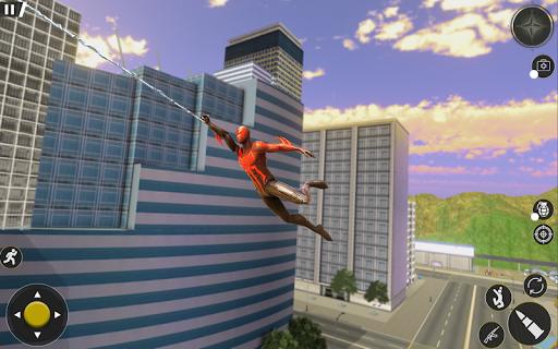 Spider Rope Hero Gangster Crime City Simulator 3D v1 screenshots 7