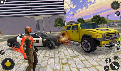 Spider Rope Hero Gangster Crime City Simulator 3D v1 screenshots 9