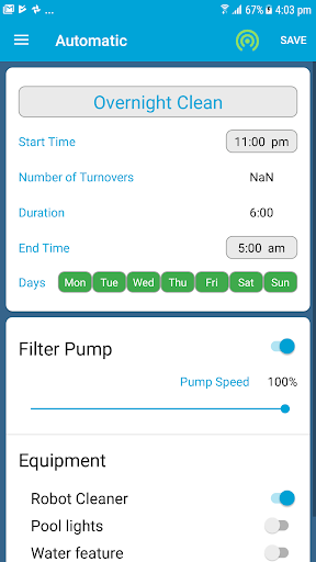 SplashMe Smart Pool Automation Controller v1.4.6 screenshots 17