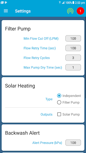 SplashMe Smart Pool Automation Controller v1.4.6 screenshots 18