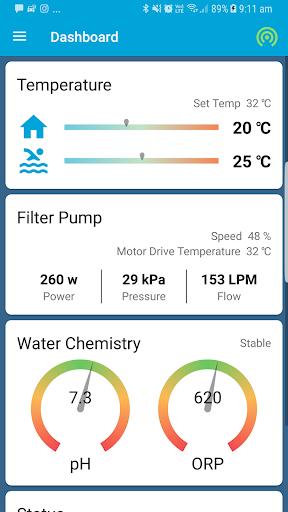 SplashMe Smart Pool Automation Controller v1.4.6 screenshots 2