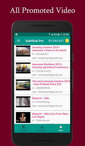 Sub4Sub Pro – View4View – Get Free Views For Video v6.3 screenshots 2