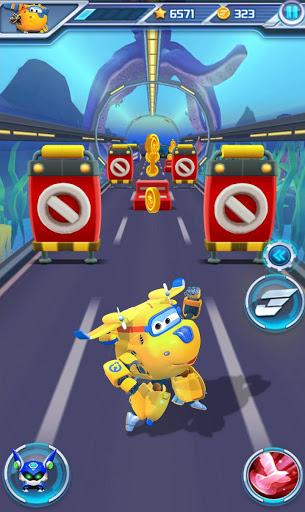 Super Wings Jett Run v3.0.6 screenshots 4