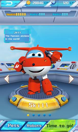 Super Wings Jett Run v3.0.6 screenshots 5