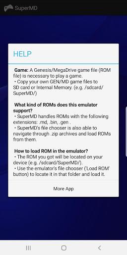 SuperMD MDGEN Emulator v3.1.1 screenshots 2