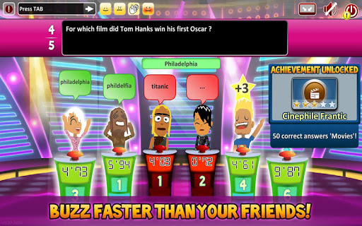 Superbuzzer Trivia Quiz Game v1.3.100 screenshots 9