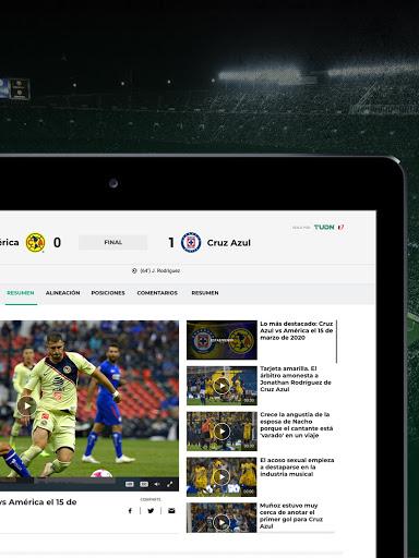 TUDN Univision Deportes Network v12.3.4 screenshots 6