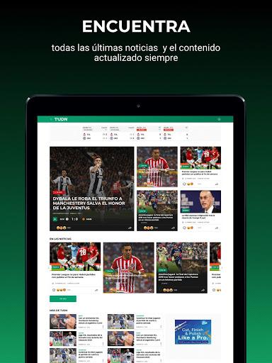 TUDN Univision Deportes Network v12.3.4 screenshots 7