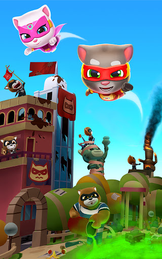 Talking Tom Hero Dash – Run Game v2.5.0.894 screenshots 10