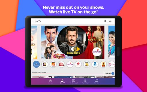 Tata Sky Mobile- Live TV Movies Sports Recharge v11.4 screenshots 10