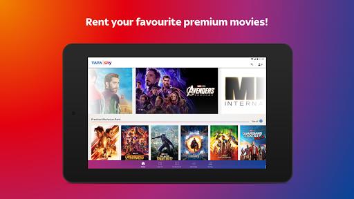 Tata Sky Mobile- Live TV Movies Sports Recharge v11.4 screenshots 12