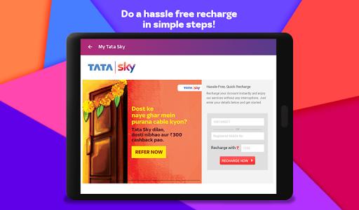 Tata Sky Mobile- Live TV Movies Sports Recharge v11.4 screenshots 18