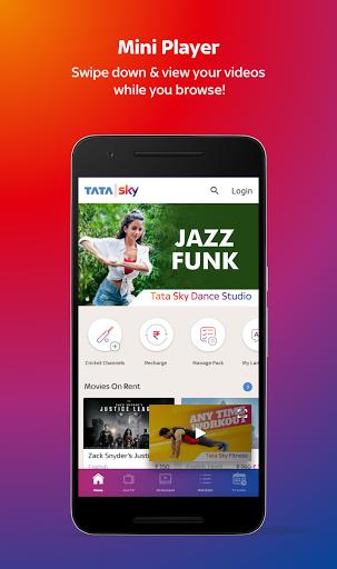 Tata Sky Mobile- Live TV Movies Sports Recharge v11.4 screenshots 2