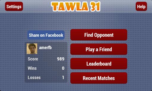 Tawla 31 v3.1 screenshots 2