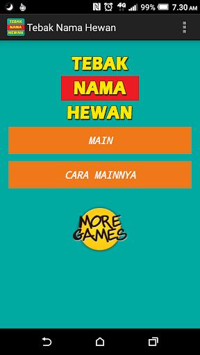 Tebak Nama Hewan v1.4 screenshots 1