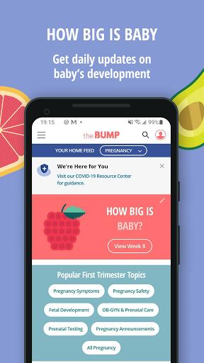 The Bump – Pregnancy amp Baby Tracker v3.58 screenshots 2