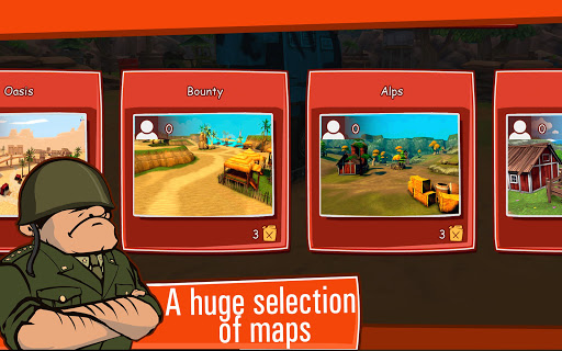Toon Wars Awesome PvP Tank Games v3.62.5 screenshots 13