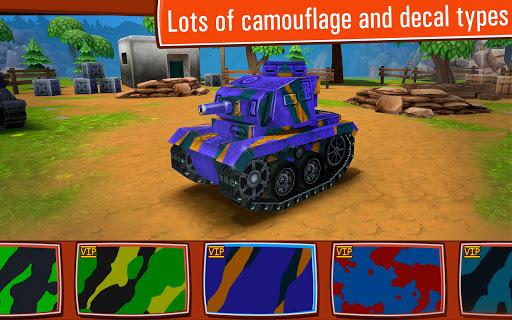 Toon Wars Awesome PvP Tank Games v3.62.5 screenshots 17