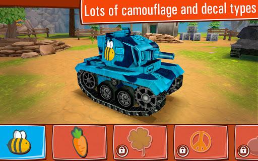 Toon Wars Awesome PvP Tank Games v3.62.5 screenshots 18