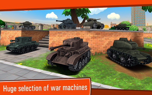 Toon Wars Awesome PvP Tank Games v3.62.5 screenshots 6