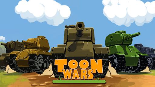 Toon Wars Awesome PvP Tank Games v3.62.5 screenshots 8
